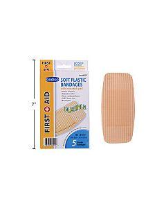 Soft Plastic Bandages - Extra Large ~ 5 per pack