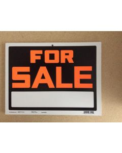 """PVC Sign - 9"""" x 12"""" ~ For Sale"""