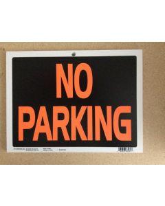 "PVC Sign - 9"" x 12"" ~ No Parking"