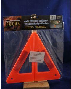 "Auto Warning Reflector Triangle ~ 9"" H"