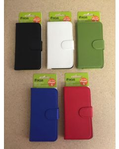 Faux Leather iPhone 6 Protective Case w/Debit & Credit Holder
