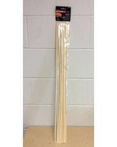 "Campfire Wooden Roasting Sticks - 30""L ~ 12 per pack"