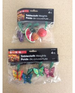 Polyresin Tablecloth Weights ~ 4 per pack