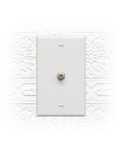 Coaxial Cable Wall Plate