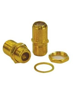 eLink Cable Coupler for Coaxial Cable ~ 2/pk