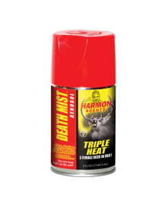 Harmon Triple Heat Death Mist Aerosol ~ 6 ounce aerosol can