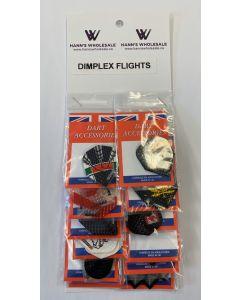 Dimplex Flights Assorted ~ 12 per card