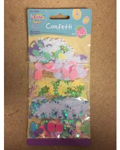 Easter Confetti - 5 assorted per pack ~ 20gr