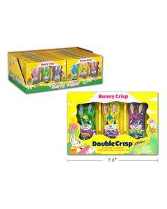 Easter Double Crisp Bunny - 3 per pack ~ 85 gram