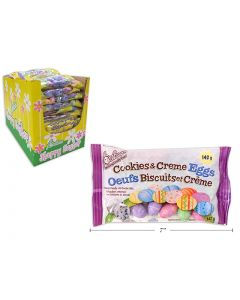 Easter Foil Covered Cookies & Creme Eggs ~ 128 gram