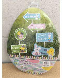 Easter Egg Hunt Signs ~ 6 per pack