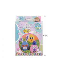Easter Egg EVA Foam Decorating Kit ~ set of 12