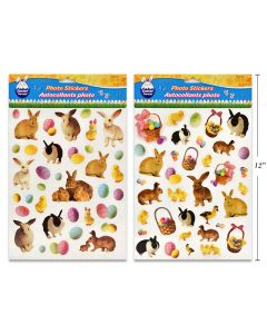 Easter Photo Print PVC Stickers