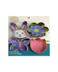 Easter Metal Cookie Cutters ~ 4 per pack