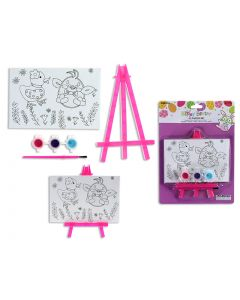 Easter Paint Your Own Canvas Painting with Easel