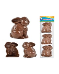 """Easter Bunny Fillables 2.75"""" ~ 3 per pack"""