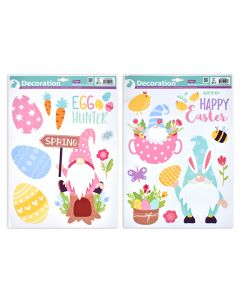 Easter Window Clings ~ Gnomes