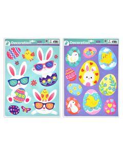 Easter Window Clings ~ Glitter