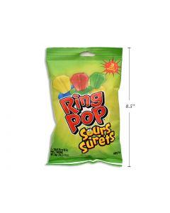 Easter Topps Sour Ring Pops ~ 3 per pack