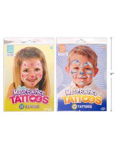 Easter Magic Fun Face Tattoos ~ Girl / Boy