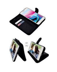 iPhone 7/8 Leatherette Wallet Phone Case