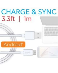 Micro USB Charge & Sync Cable ~ 3.3' / 1M