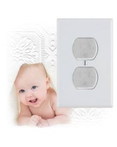 Electrical Safety Outlet Caps ~ 10 per pack