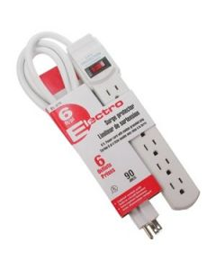 Power Bar ~ 6 outlets & 6' cord