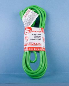 Heavy Duty Outdoor Extension Cord w/1 Outlet - 15'