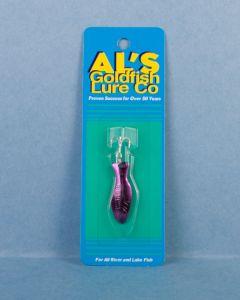 Al's Goldfish - 3/16oz ~ Purple on Nickel