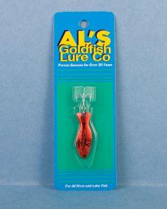 Al's Goldfish - 3/16oz ~ Red on Gold