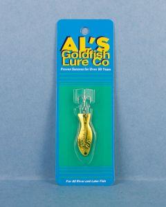 Al's Goldfish - 3/16oz ~ Yellow on Gold