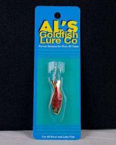 Al's Goldfish - 3/16oz ~ Gold Prism Red