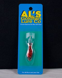 Al's Goldfish - 3/16oz ~ Nickel Prism Red