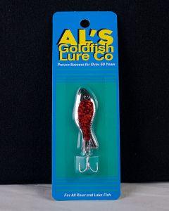 Al's Goldfish - 1/4oz ~ Nickel Prism Red