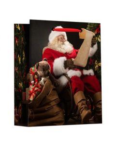 Christmas Small Gift Bag ~ Santa