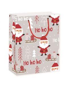 Christmas Large Gift Bag ~ Ho Ho Ho