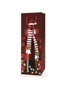 Christmas Bottle Gift Bag ~