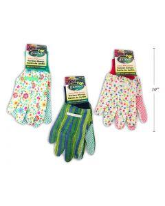 Gardening Gloves w/Kniited Cuff