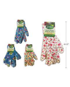 "Gardening Gloves - Nitrile Coated ~ 10"""