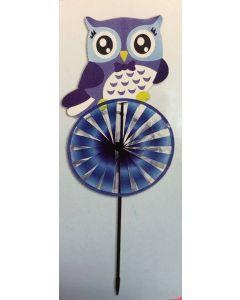 """Owl Pinwheel ~ 27.75"""""""