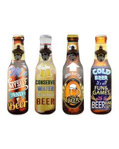 Hanging Die-Cut Beer Bottle Opener
