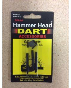 Hammerhead Darts GT Shaft ~ Medium Black
