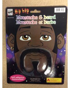 Halloween Hip Hop Moustache & Beard
