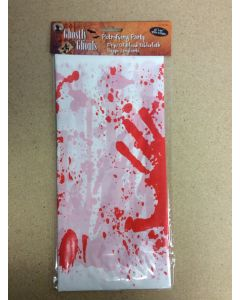 """Halloween Drips of Blood Tablecloth ~ 54"""" x 90"""""""