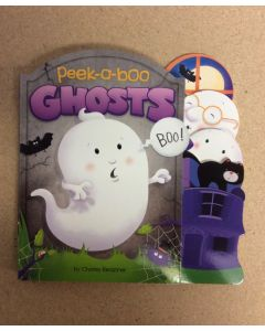 Halloween Peek-A-Boo Ghosts Die-Cut Board Book