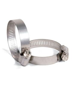 """Hose Clamps - SAE# 24 ~ 1-1/16"""" to 2"""" ~ Box of 10"""
