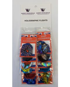Holographic Assorted Flights ~ 12 per card