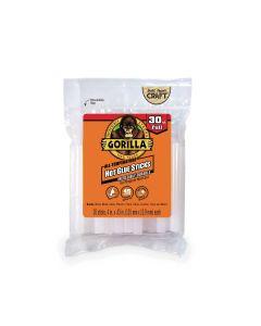 """Gorilla Hot Glue Sticks for Glue Guns - 4"""" Full ~ 30 per pack"""