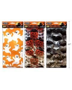 Halloween Cello Candy Bags ~ 20 per pack